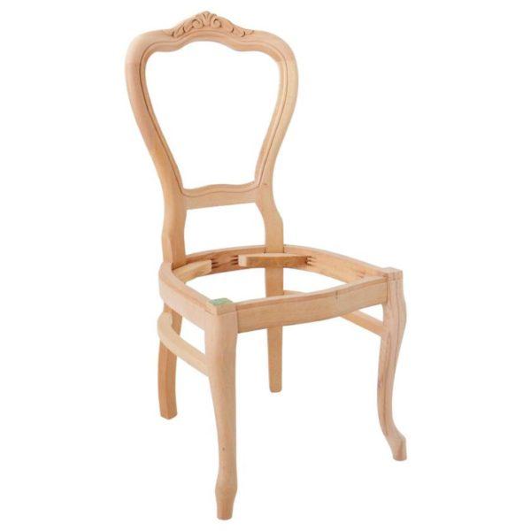 oymalı lükens sandalye