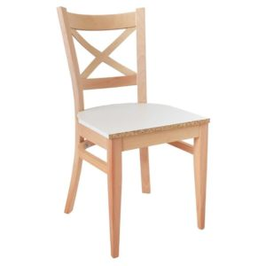 döşemeli çapraz sandalye